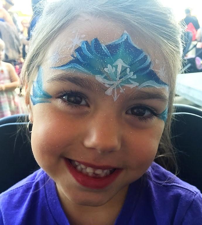 Face painting princess ideas